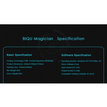 پرینتر سه بعدی Mini Kossel Delta دارای تکنولوژی FDM محصول BIQU