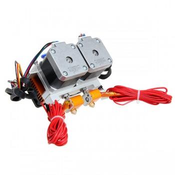اکسترودر دو نازله MK8 پرینتر سه بعدی - 3D Printer MK8 Extruder Dual Nozzle