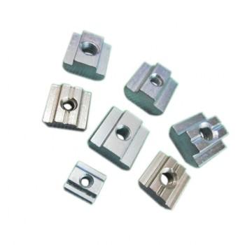 بسته 5 تایی مهره تی مربعی مناسب برای اتصال پروفیل های آلومینیومی مهندسی مدل M5-40