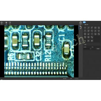 دوربین میکروسکوپی صنعتی 5 مگاپیکسل CGU2-500CUVC دارای ارتباط USB