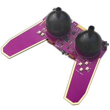 ماژول ریموت کنترل وایرلس دارای ترنسیور NRF24L01 و پردازنده STM32F103