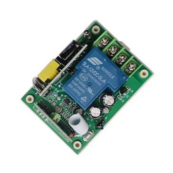 ماژول ریموت کنترل یک کاناله دارای ولتاژ ورودی 220V و فرکانس 315MHz