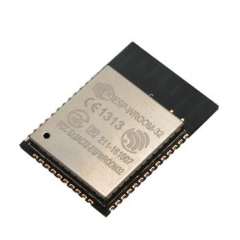 ماژول ESP32-WROOM دارای بلوتوث ، وایفای داخلی و هسته ESP32