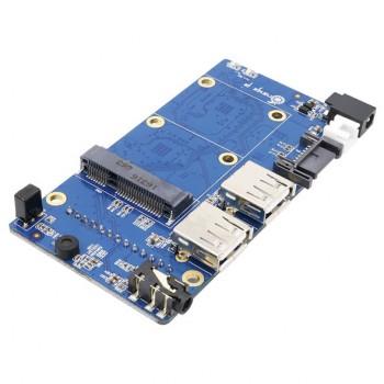برد توسعه Orange Pi Zero NAS دارای پورت SATA ، USB و خروجی AV