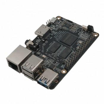 برد چهار هسته ای 64 بیتی RK3328 دارای RAM 1GB و قابلیت بوت اندروید / Ubuntu
