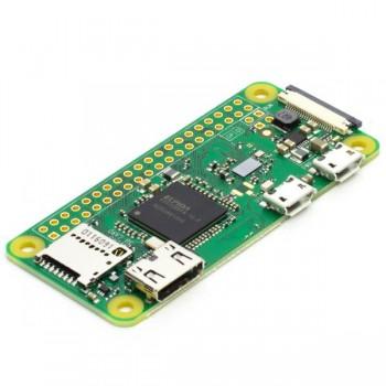 برد رسپبری پای زیرو W دارای 512MB RAM , بلوتوث و وایفای داخلی ( Raspberry Pi Zero W )