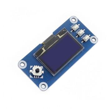 شیلد نمایشگر OLED تک رنگ 1.3 اینچ دارای چیپ درایور SH1106 مناسب برای برد رسپبری پای