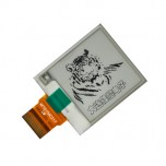 نمایشگر E-Eink دارای اندازه 1.54 اینچ ، کابل فلت 24 پین و چیپ درایور IL0373F