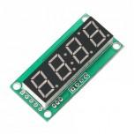 ماژول سون سگمنت 4 رقمی با درایورTM1637 ، ممیز ، دو نقطه ساعت و علامت درجه