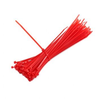 بسته 25 تایی بست کمربندی (Ty-Rap) قرمز 4x200mm