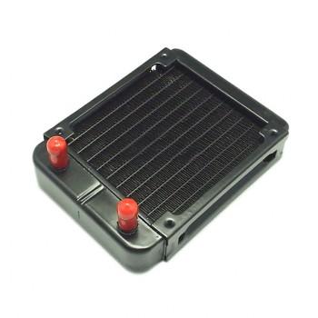 رادیاتور آلومینیومی دارای ابعاد 150x120x32mm