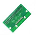 برد آداپتور 34 پین FPC دارای استاندارد 0.5 میلی متری به همراه کانکتور FPC
