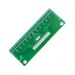 برد آداپتور 50 پین FPC دارای استاندارد 0.5 میلی متری به همراه کانکتور FPC
