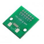 برد آداپتور 12 پین FPC دارای استاندارد 0.5 میلی متری