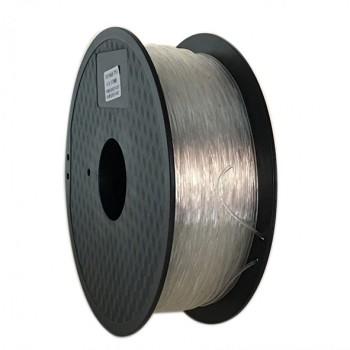 فیلامنت انعطاف پذیر 500 گرمی پرینتر 3 بعدی دارای جنس TPU و قطر 1.75mm ( رنگ طبیعی )