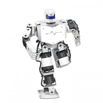 کیت ربات انسان نما H3S دارای 9 درجه آزادی و قابلیت کنترل از طریق صدا