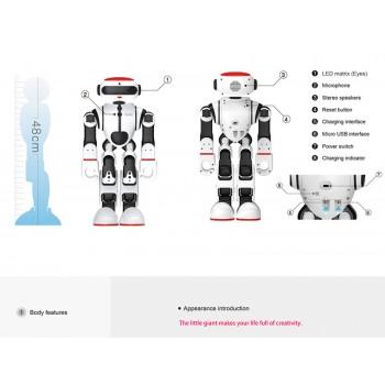 کیت ربات انسان نما Dobi با قابلیت کنترل از طریق صدا و نرم افزار