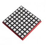 ماژول صفحه نمایش RGB ماتریسی 8x8 تمام رنگ مناسب برای بردهای رسپبری پای / آردوینو