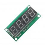 ماژول سون سگمنت 4 رقمی دارای حافظه EEPROM ، درایورTM1637 ، ممیز ، دو نقطه ساعت و علامت درجه