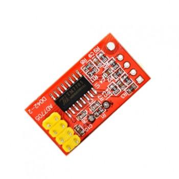 ماژول مبدل آنالوگ به دیجیتال 16 بیتی دو کاناله TM7705