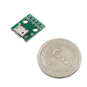 بسته سه تایی برد برک اوت میکرو USB دارای سوکت مادگی
