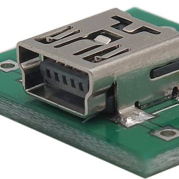 برد برک اوت مینی USB دارای سوکت مادگی