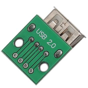 برد برک اوت USB 2.0 دارای سوکت مادگی