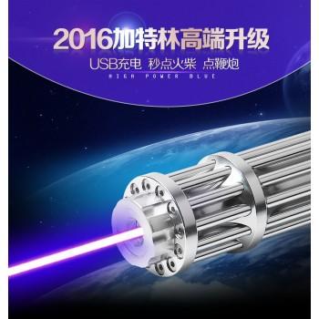 ست کامل دیود لیزر 450 نانومتری دارای شارژر میکرو USB