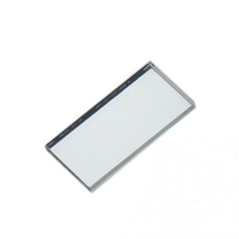 لنز بازتابی RGB دارای ابعاد 14mmX7mm و طول موج 400 الی 700 نانومتر