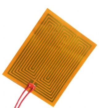 پد هیتر صفحه ای پلی آمید 220V دارای ابعاد 20x20 سانتی متر