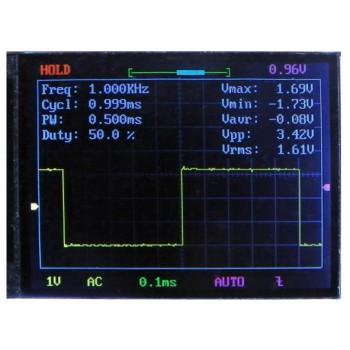 کیت اسیلوسکوپ دیجیتال DSO138 دارای نمایشگر رنگی