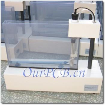 دستگاه اسید کاری ( اچینگ ) دارای حجم تانک 2.5 لیتر مدار چاپی PCB