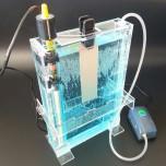 دستگاه اسید کاری ( اچینگ ) دارای حجم تانک 2.3 لیتر مناسب برای مدار چاپی PCB