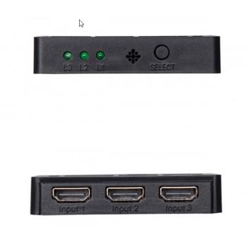 سوئیچ 3 به 1 پورت HDMI با قابلیت پشتیبانی از 1080P