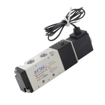 شیر برقی پنوماتیک 12 ولتی 4V110-06 محصول Airtac