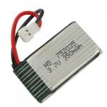 باتری لیتیومی  3.7V 350mAh 25C تک سل