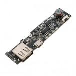 ماژول شارژر / دشارژر باتری لیتیومی دارای خروجی 5V 2A USB مناسب برای ساخت پاور بانک