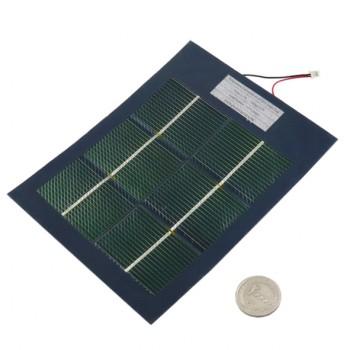 باتری / پنل خورشیدی انعطاف پذیر 2.6 ولت 2.5 وات