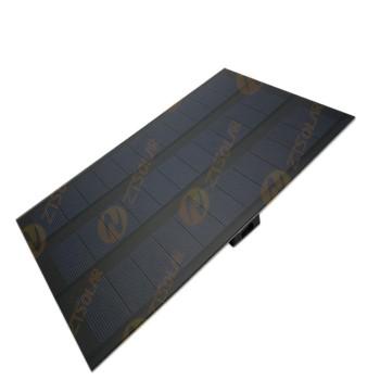 باتری / پنل خورشیدی تک کریستال 6 ولت 6 وات
