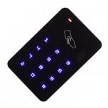 دستگاه کنترل تردد ( اکسس کنترل ) دارای کلیدهای لمسی و قابلیت خواندن کارت RFID ( فرکانس 13.56MHz )