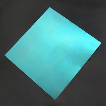 صفحه فلزی آلومینیومی دارای ابعاد 200mmX200mmX0.5mm مناسب برای ساخت سازه های رباتیک
