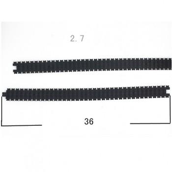 شنی پلاستیکی تانک 2.7X36 سانتی متری