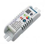 درایور RGB LED با قابلیت کنترل وایفای دارای کیس پلاستیکی محافظ