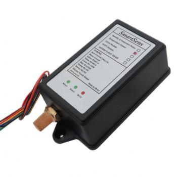 سنسور دمای محیطی DS18B20 دارای پروتکل مدباس ، دو رله داخلی و کیس محافظ