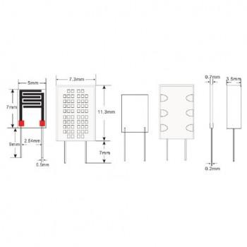 سنسور سنجش رطوبت مقاومتی HR202