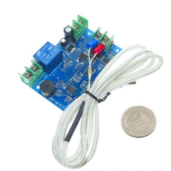 ماژول ترموستات دیجیتال XH-W1313 دارای نمایشگر و کلیدهای کنترلی(24 ولت)