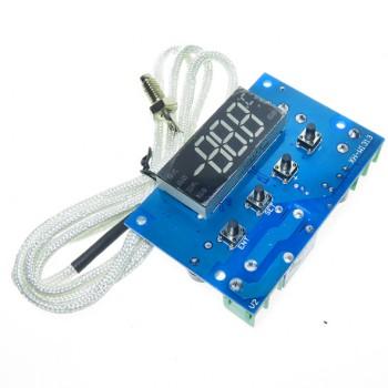 ماژول ترموستات دیجیتال XH-W1313 دارای نمایشگر و کلیدهای کنترلی