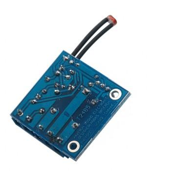 ماژول فتوسل (سنسور نور ) یک کاناله دارای رله 10 آمپری تولید داخل
