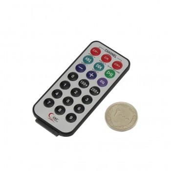 کیت ریموت کنترل مادون قرمز -  فرستنده + گیرنده + باتری و سیم - Remote Control