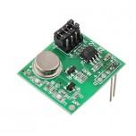 ماژول فرستنده EV1527 دارای فرکانس 433MHZ مناسب برای ساخت ریموت کنترل